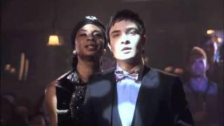 Gossip Girl: Blair Burlesque Dance/Blair & Chuck in Limo - 1x07