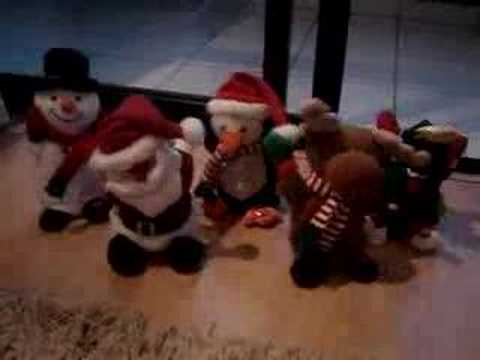 Toys playing Jingle Bell
