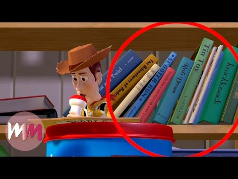 Thumbnail: Top 10 Hidden Easter Eggs in Pixar Movies