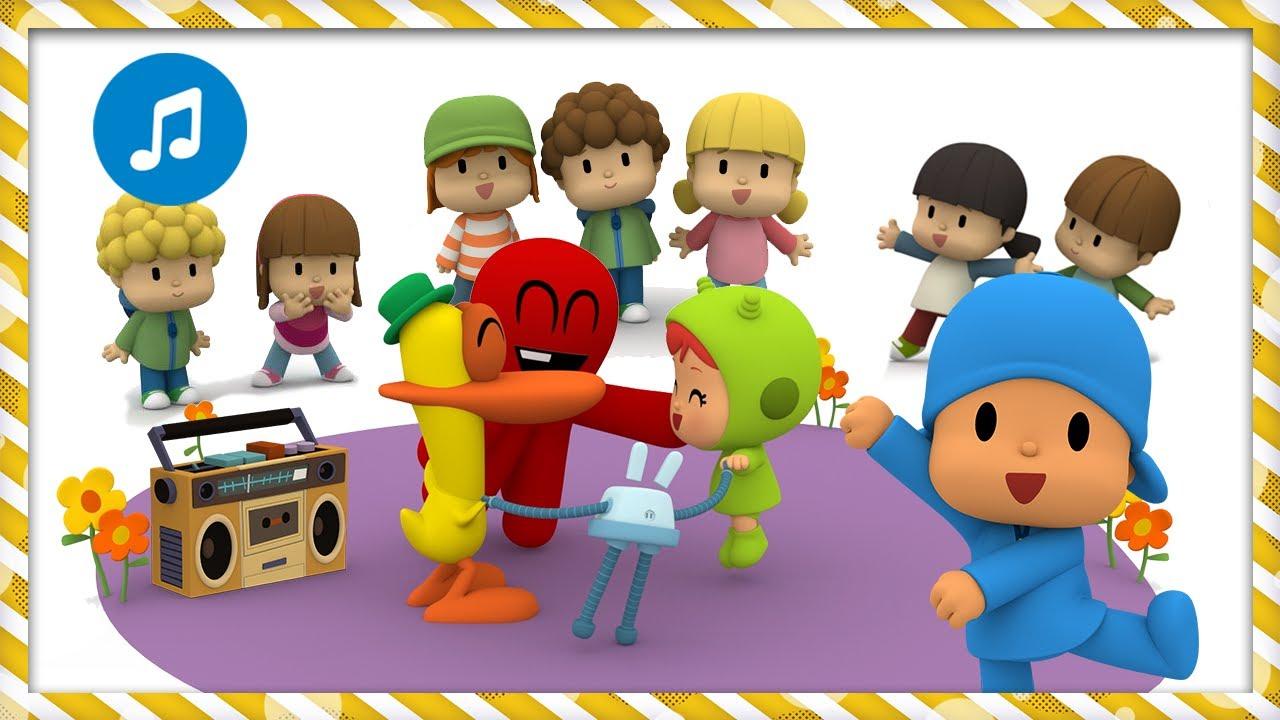 👯 El Patio de mi casa | Caricaturas, Dibujos, Canciones Infantiles para niños - Pocoyo