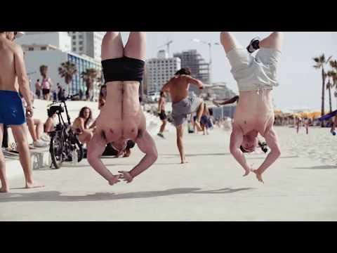 Enjoy sports life on a Tel Aviv beach
