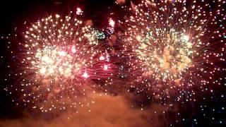 Jaffrey NH fireworks Aug 15 2009 Grand Finale