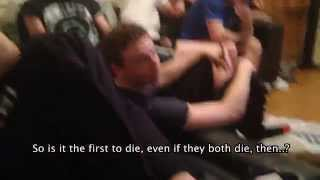 hilarious reaction to the mountain vs the viper subtitles game of thrones