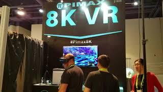 CES 2018 - Pimax 8K VR headset