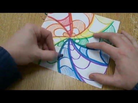 Easy Op Art Design for Kids