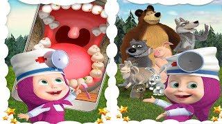 Маша Стоматолог Лечит Зубы Панде Мишке Детские Игры