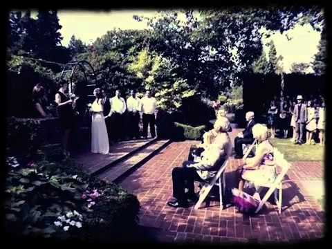 Portland Oregon International Rose Garden Wedding Iphone Video With Reception At The Hotel Deluxe You