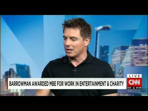 Rosemary Church Interviews John Barrowman on CNN
