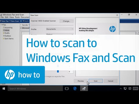 Scanning To Windows Fax And Scan | HP Printers | HP