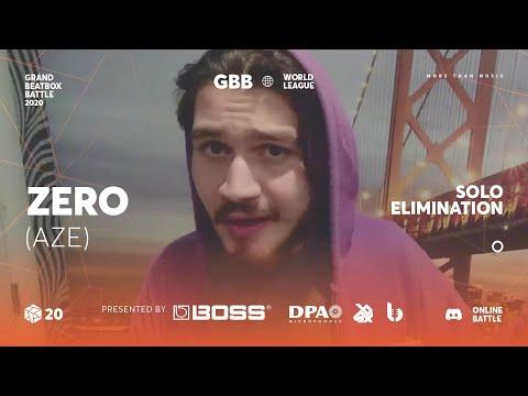 Zer0 | Grand Beatbox Battle Online 2020 | Solo Elimination #4