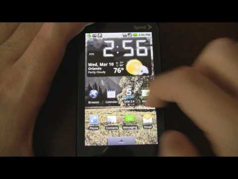 Android on an HTC Touch Pro2