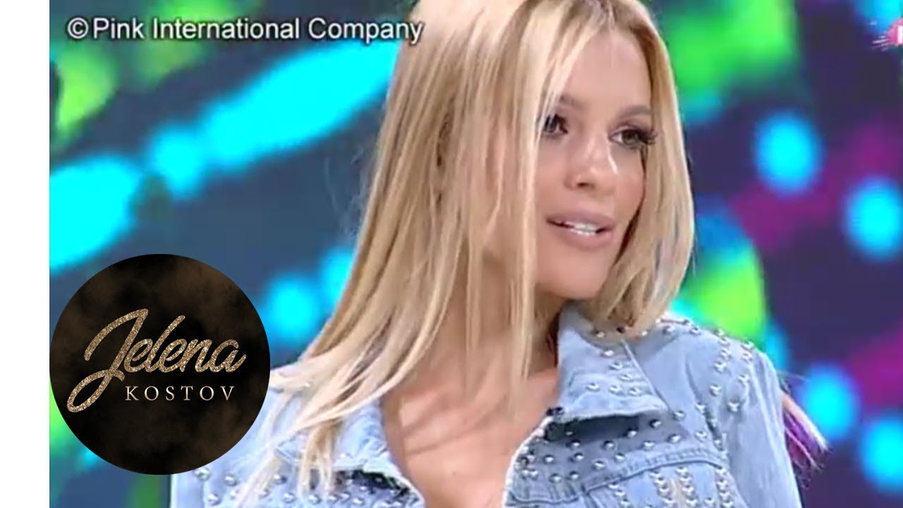 Jelena Kostov - Pameti zbogom - Novo jutro - (TvPink 06.09.2018)