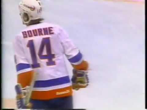 January 18 1983 Whalers at Islanders Bob Bourne Great Goal