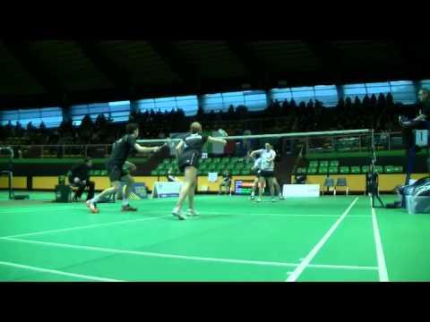 XD Finals:  Zvonimir Durkinjak (CRO) Eva Lee (USA) VS Jacco Arends/Selena Piek[5] (NED)