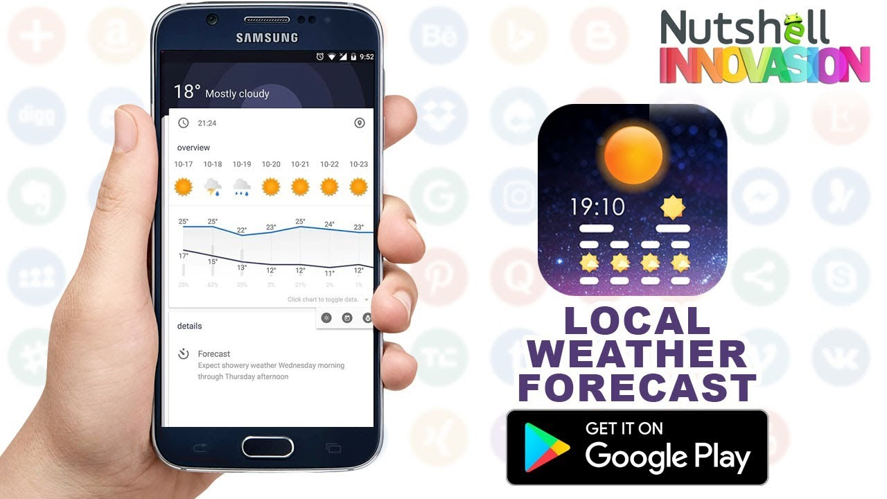 Weather Forecast Android App | Weather Apps - Local Weather Forecast: 14  days