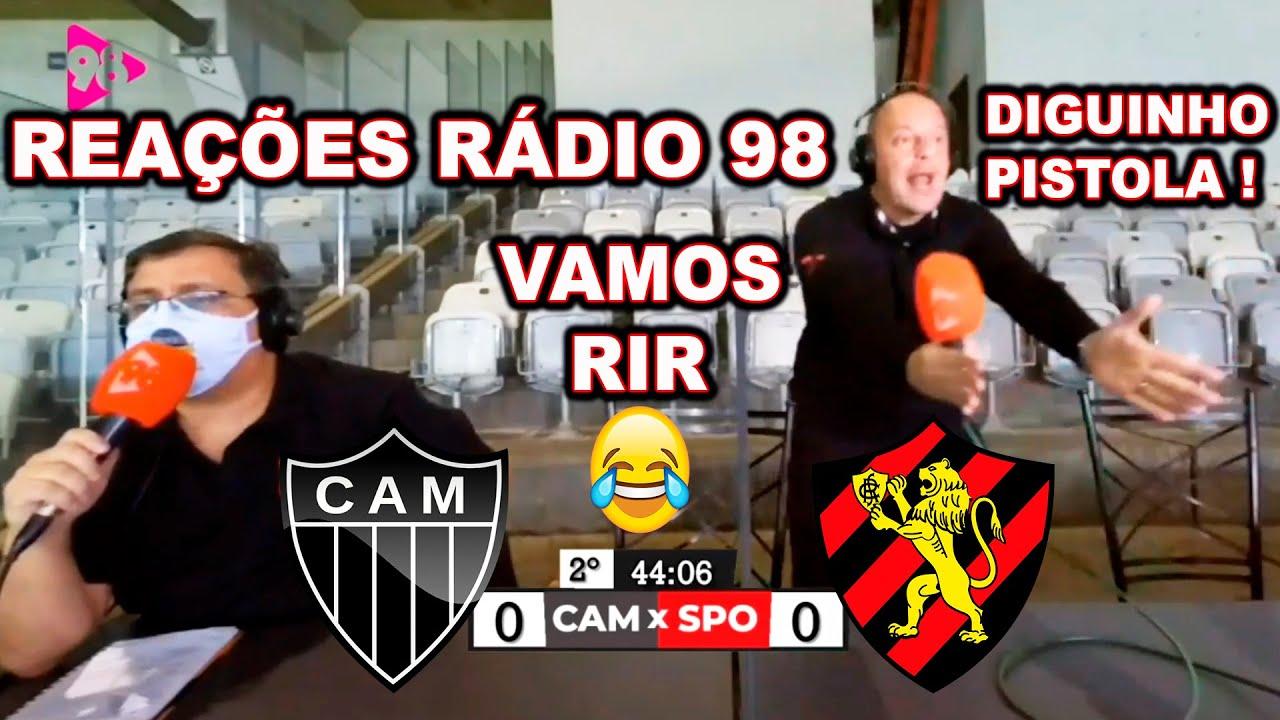 Comentarista se DESESPERA com empate de Atlético-MG X Sport kkk