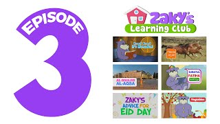 Zaky's Learning Club EP3 - Learn About Ramadan & Fasting