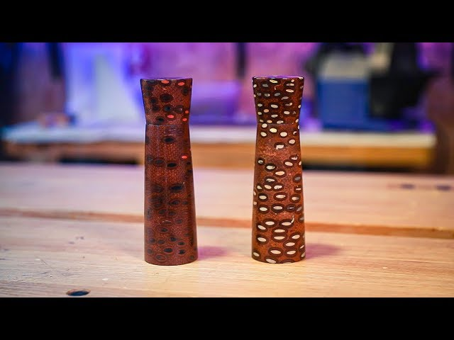 Making Salt and Pepper Mills using BANKSIA NUTS?! | Turning Tuesday #20