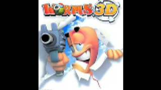 Worms 3D music - Title Screen - Shake My Coconuts - Junior Senior