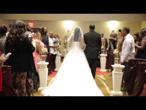 Duncanville, TX Wedding At Hilton Garden Inn For Rodney And Valencia