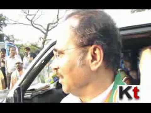Adhir Ranjan Chowdhury speaking on Rajnath Singh's West Bengal Visit