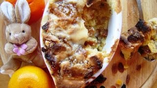 Pudding From Easter Cake (or Ukrainian Version Of Bread And Butter Pudding