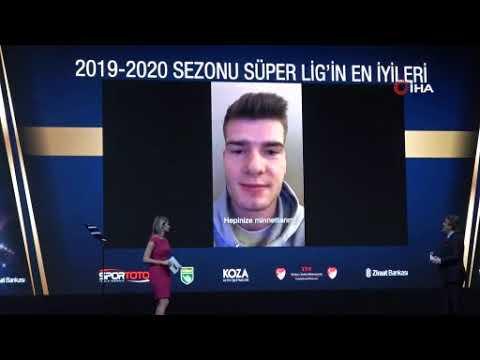 Süper Lig'in en iyileri ödüllerini aldı! İşte o isimler...