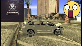 GTA San Andreas: Realistic Car Crash Physics Mod (one model)