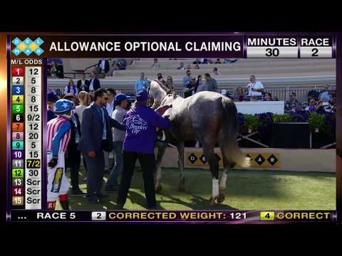 Americanize Wins Damascus Stakes Race 1 at Del Mar 11/03/17