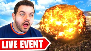 WARZONE MAP NUKED! THE END OF VERDANSK! (Live Reaction)