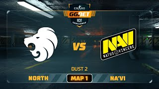 North vs Na'Vi [Map 1, Dust2] (Best of 3) | GG.Bet Ice Challenge