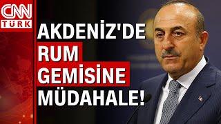 Dışişleri Bakanı Mevlüt Çavuşoğlu'ndan sert 'Yunanistan' ve 'Rum Kesimi' açıklaması!