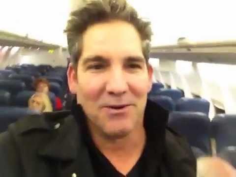 Grant Cardone Handles Flight Attendant