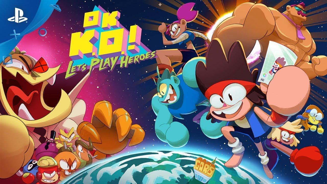 OK  K O ! Let's Play Heroes! - Gameplay Trailer - Cartoon Network | PS4