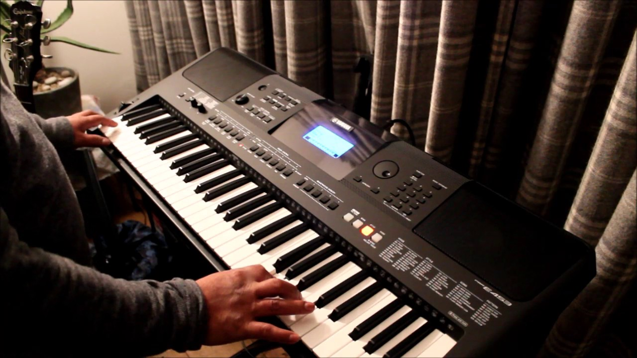 yamaha psr e453 test and review youtube. Black Bedroom Furniture Sets. Home Design Ideas