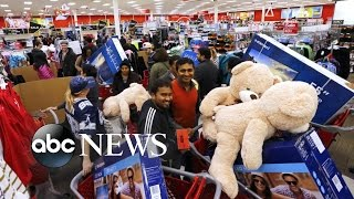 Black Friday Shoppers in Force All Across the Country