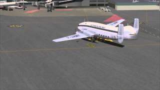 X-Plane 10 Breguet deux ponts arrive à Nice Côte d