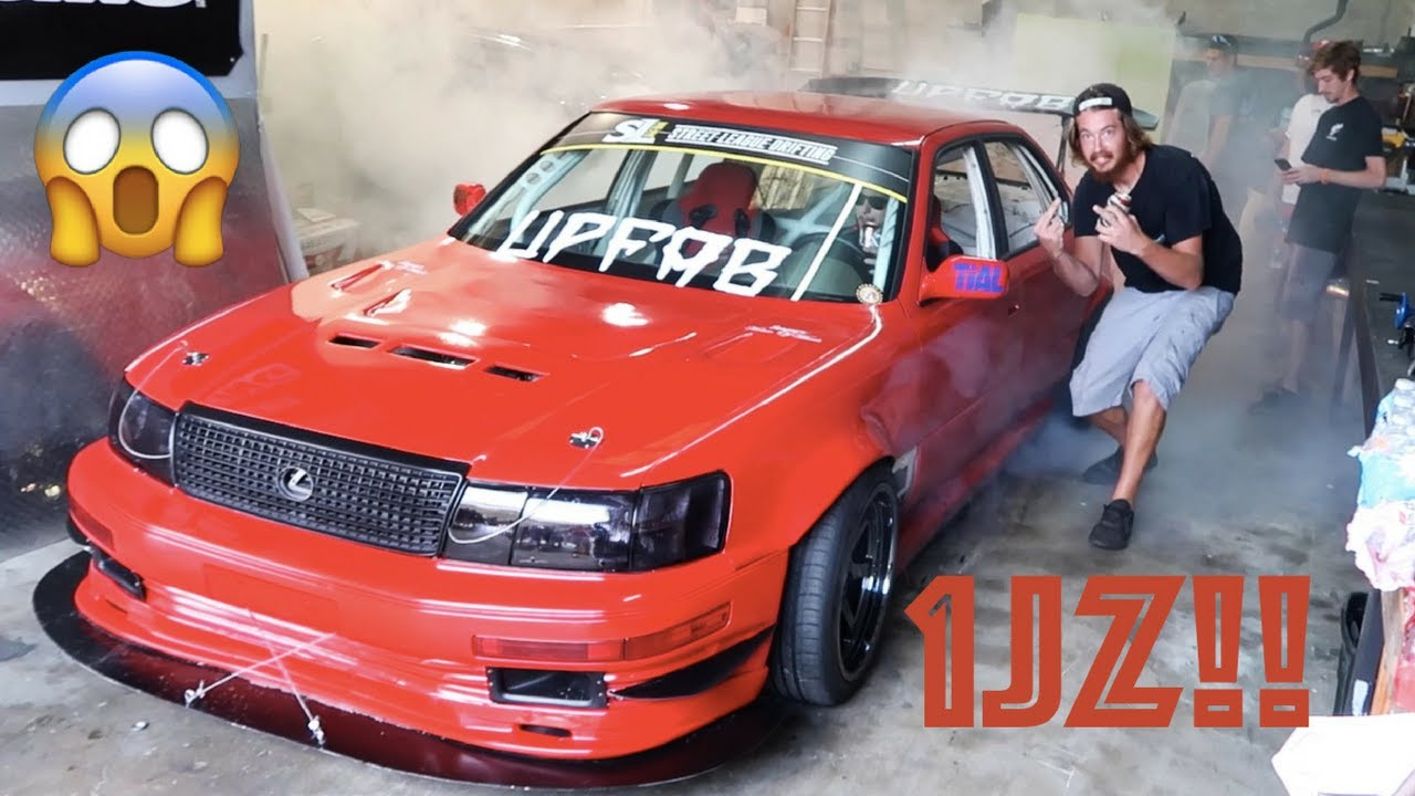 shop burnouts in 4 door drift cars upfab bbq youtube
