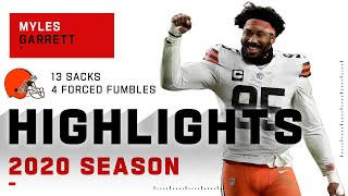 Myles Garrett Full Season Highlights