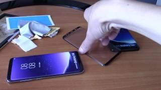 Настоящее 3D стекло Imak и Nillkin CP+ на примере Samsung Galaxy S8
