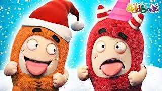 Oddbods | Christmas Party | Funny Cartoons For Children