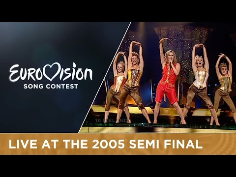 Selma - If I Had Your Love (Iceland) Live - Eurovision Song Contest 2005