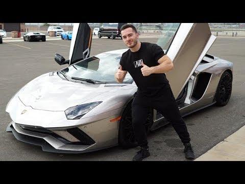 2ea847ed6a7c New Lamborghini Aventador S Track Day. Jordan Maron