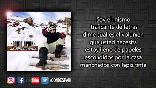 03 - Conde Spaik - Traficante De Letras Ft. Donexprs (Official Lyric Video)