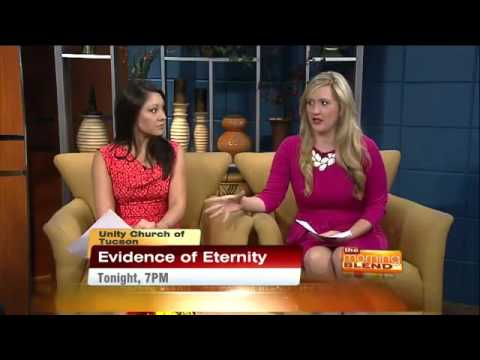 Mark Anthony, The Psychic Lawyer on The Morning Blend KGUN9