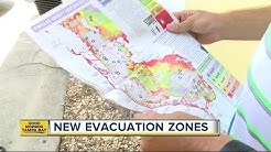 Pinellas County evacuation zones changing