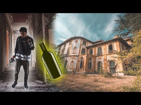 Abandoned $10,000,000 Italian Mansion (Found 100's of Wine Still Left Inside)