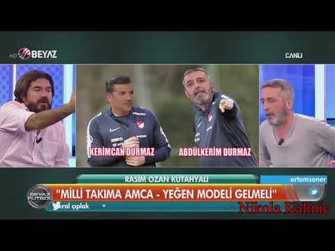 Beyaz Futbol | Amca Yeğen Modeli | Abdülkerim Durmaz ve Kerimcan Durmaz | 08.10.2017