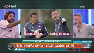 Beyaz Futbol   Amca Yeğen Modeli   Abdülkerim Durmaz ve Kerimcan Durmaz   08.10.2017