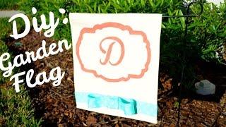DIY:  Garden Flag Tutorial